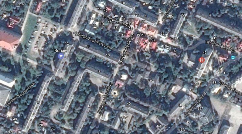 У місті збирають пропозиції щодо плану будівництва групи багатоповерхівок на  Сніжній і Карпатській