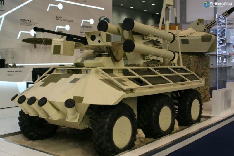 """На міжнародній виставці зброї представили новий український """"Фантом"""" (ВІДЕО)"""