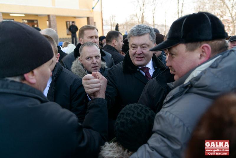 Стало відомо, що робитиме Порошенко в Івано-Франківську