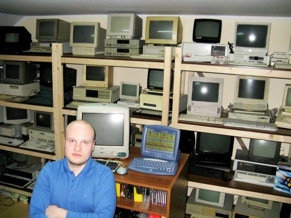 Франківець зібрав унікальну колекцію комп'ютерів (ФОТО)