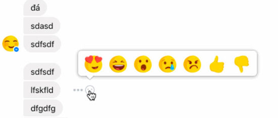 Facebook почав тестувати кнопку «дизлайк» в Messenger