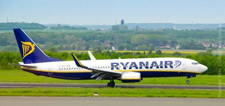 """Авіакомпанія """"Ryanair"""" запустить вісім нових рейсів між Україною і Польщею"""