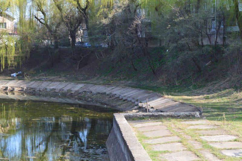 Мешканці Франківська просять владу допомогти відновити озеро поблизу 21-ої школи