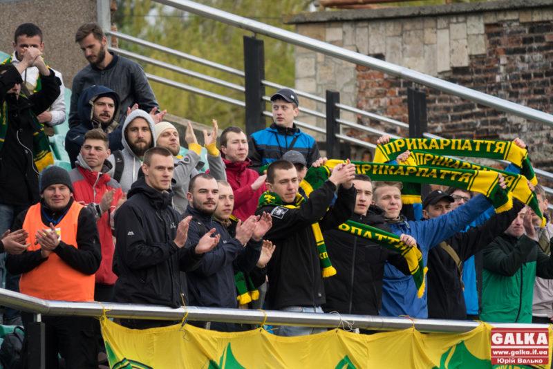 """Футболісти """"Прикарпаття"""" перемогли дублерів львівських """"Карпат"""""""