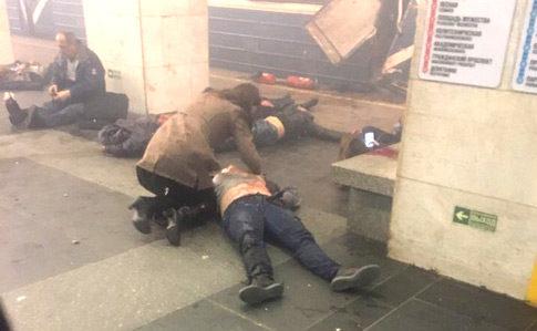 Від вибухів у метро Санкт-Петербурга загинули 10 осіб, – ЗМІ
