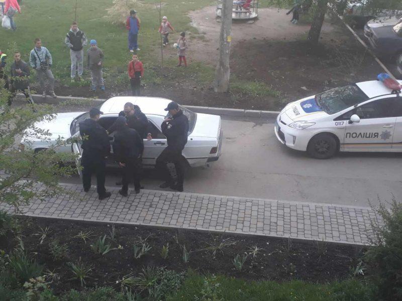 У Франківську п'яний водій безуспішно намагався втекти від поліції (ФОТО)
