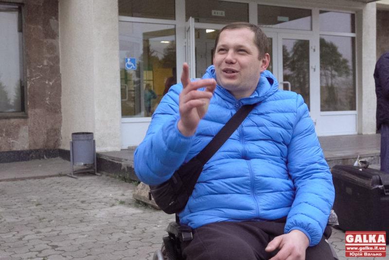 Ветерану АТО Олегу Івахнюкудопомагає стати на ноги американський фонд (ФОТО)