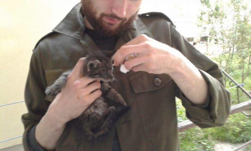 Муніципальні вартові врятували кошеня (ФОТОФАКТ)