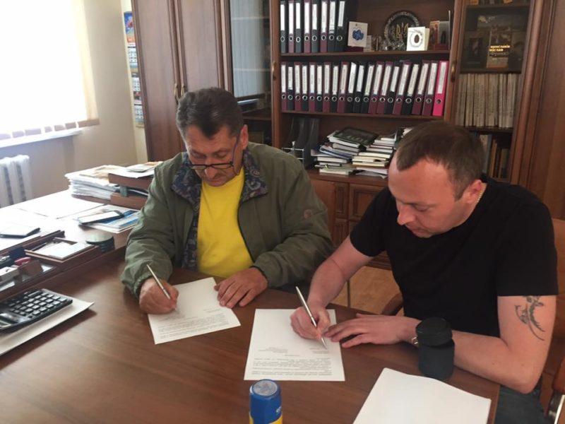 Франківські атовці та Центральна міська лікарня підписали меморандум про співпрацю (ФОТО)