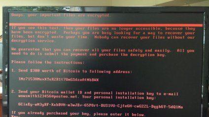 В Україні зупинили кібератаку вірусу Petya.A