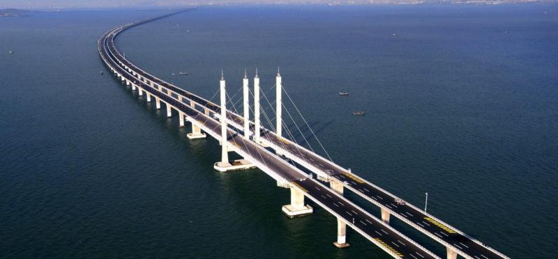 У Китаї збудували найдовший у світі підводний тунель (ФОТО)