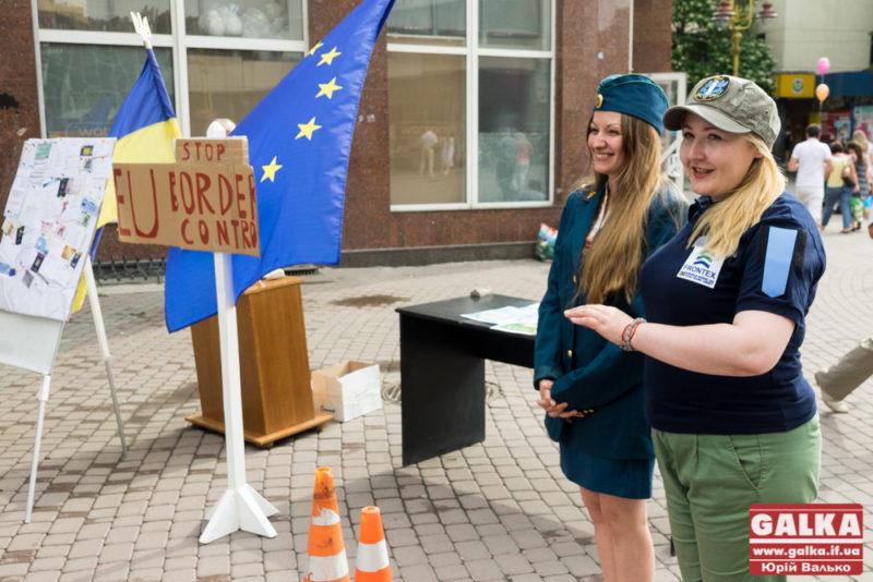 Франківці проходили уявний кордон з Євросоюзом (ФОТО)