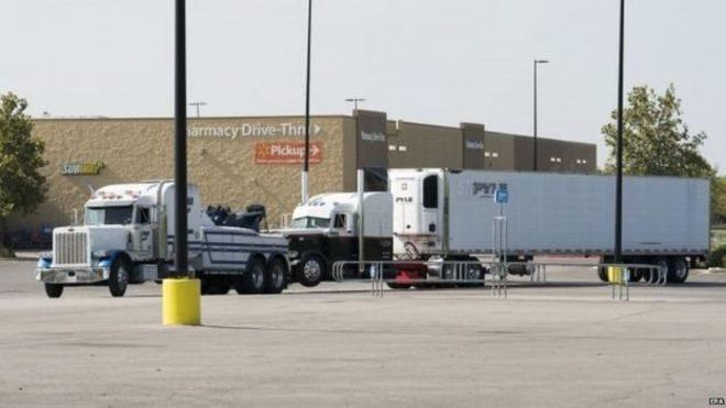 У США у вантажівці знайшли десятки людей, дев'ятеро були мертвими