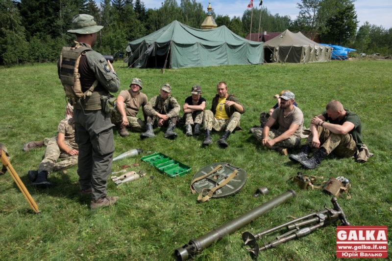 На Прикарпатті триває Всеукраїнський військовий вишкіл «Карпатський легіон» (ВІДЕО)