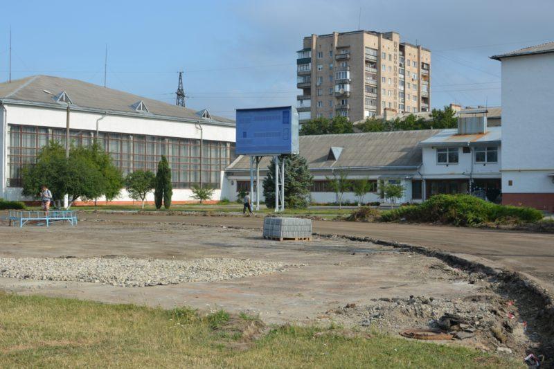 Завершився перший етап робіт з реконструкції франківського стадіону (ФОТО)