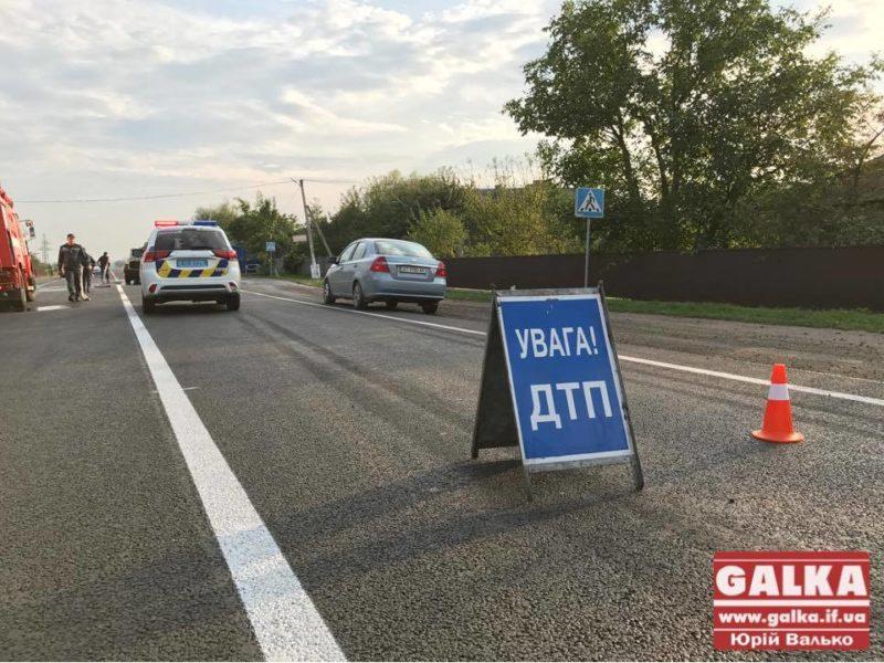У Ямниці автомобіль на смерть збив жінку-порушницю (ФОТО)