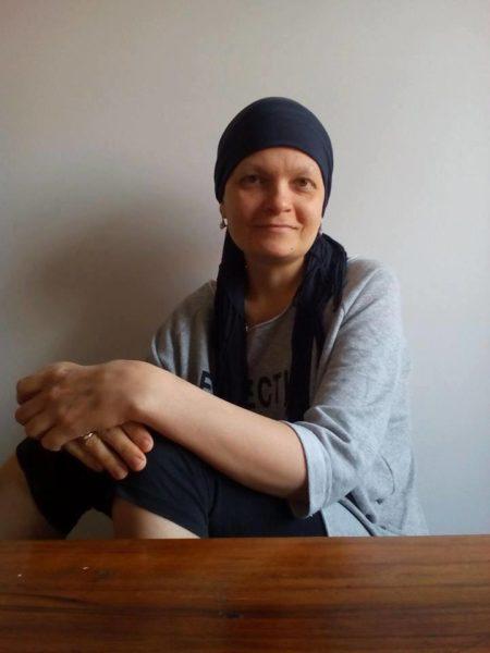 Оксана Кваснишин готується до шостої хіміотерапії
