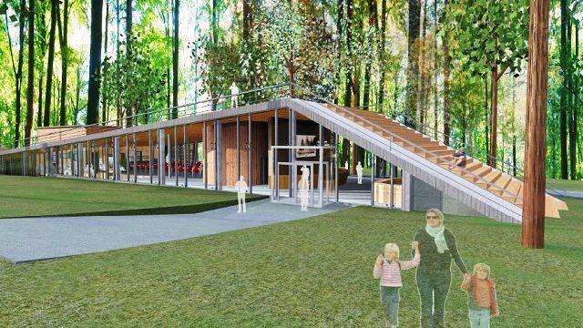 На Прикарпатті почали будувати два візит-центри