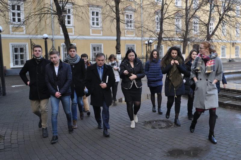 Франківські студенти провели робочий день із ректором (ФОТО)