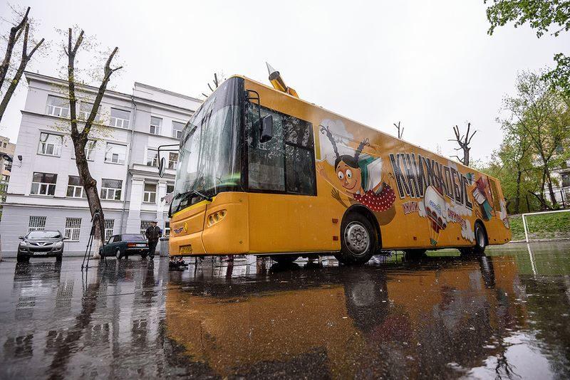 У Франківську автобус хочуть облаштувати під дитячу бібліотеку