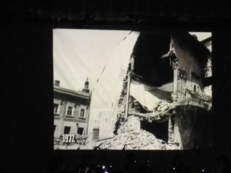 Як понад 20 років тому обвалився Театр ляльок і відкривали пам'ятник Франку (ВІДЕО)
