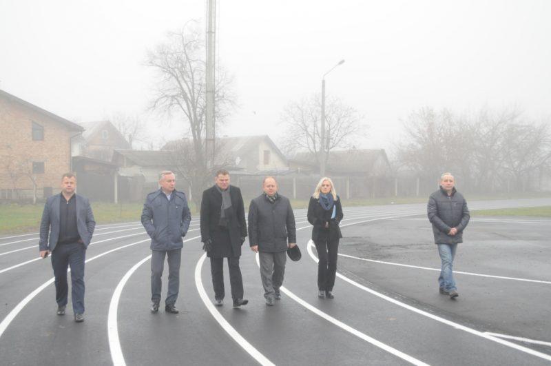 Міністерство молоді та спорту перевірило стан стадіону франківського вишу (ФОТО)