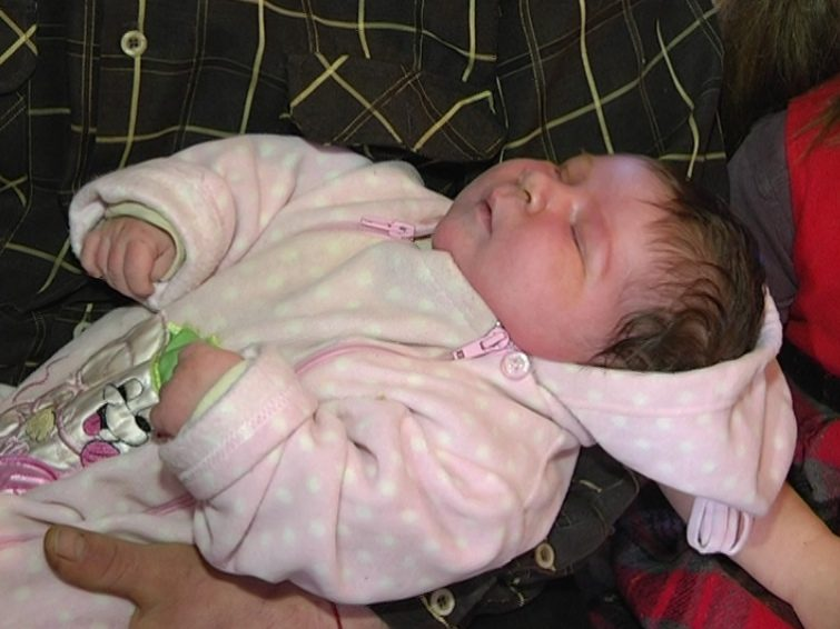 У Запоріжжі народився хлопчик вагою понад 7 кілограмів