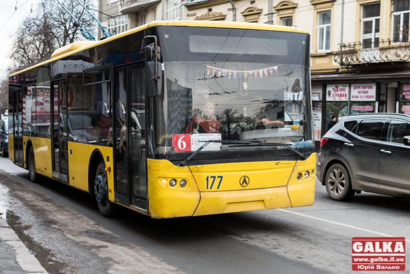 У вихідні тролейбуси №6 та №7 курсуватимуть за зміненим маршрутом