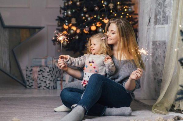 Модель XL із Франківська знялася у святковій фотосесії з донечкою (ФОТО)