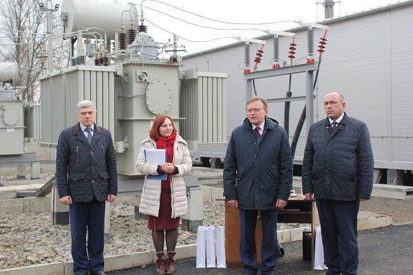 У Снятині відкрили надсучасну трансформаторну підстанцію (ФОТО)