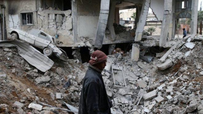 Урядові війська провели хімічну атаку в Сирії