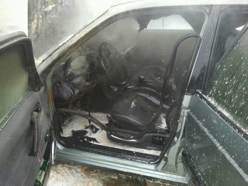 Прикарпатець травмувався під час пожежі автомобіля