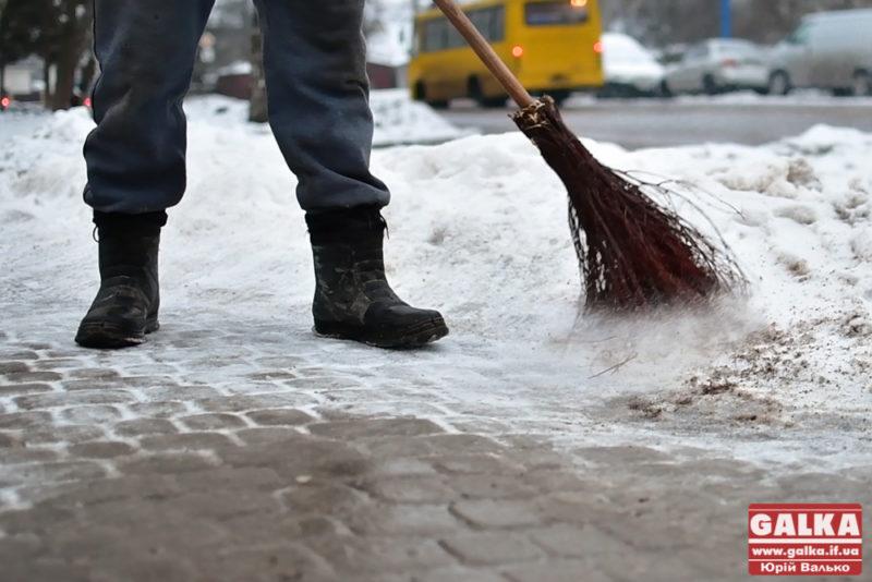 МДК вирішила витратити на підрядників для прибирання доріг та тротуарів 3,5 млн грн.