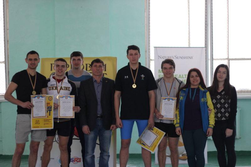 Франківець встановив рекорд України з гирьового спорту (ФОТО)