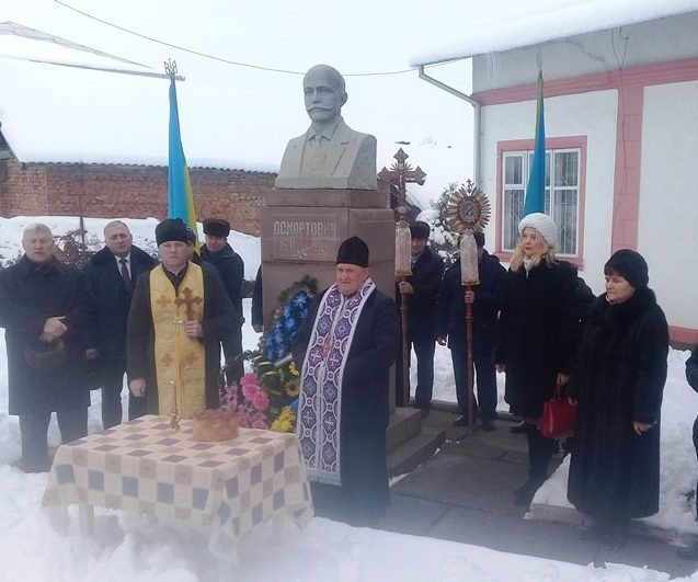 На Городенківщині вшанували славетного земляка