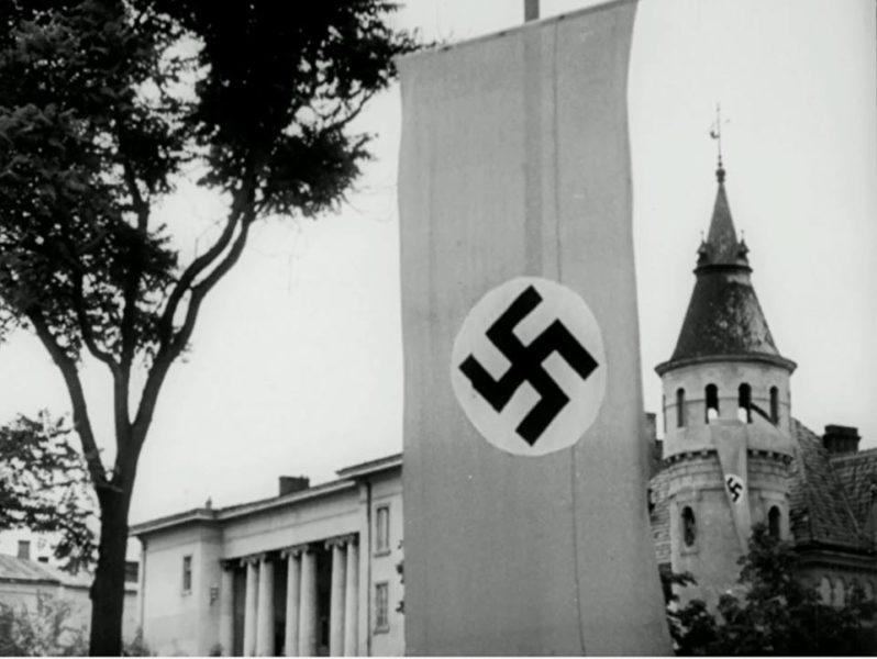 Віднайшли унікальну воєнну кінохроніку Станіслава (ФОТОФАКТ)