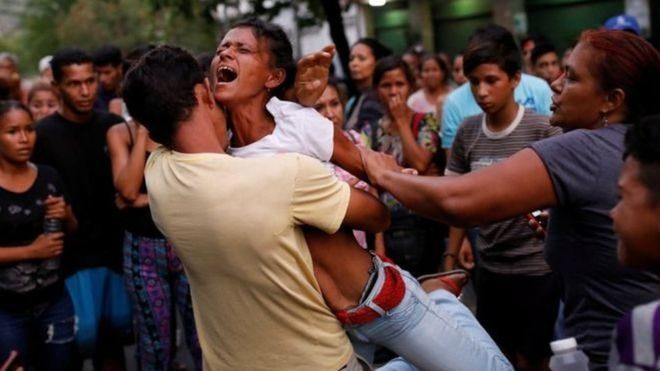 У Венесуелі десятки людей загинули у пожежі в поліцейській дільниці