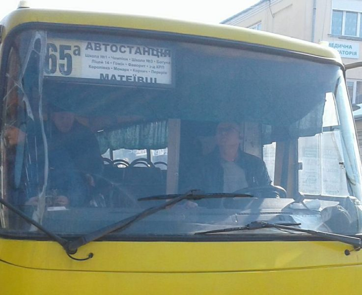 У Коломиї водій маршрутки вимагав гроші у малого сина загиблого бійця АТО. Реакція ветеранів не забарилася (ФОТО)