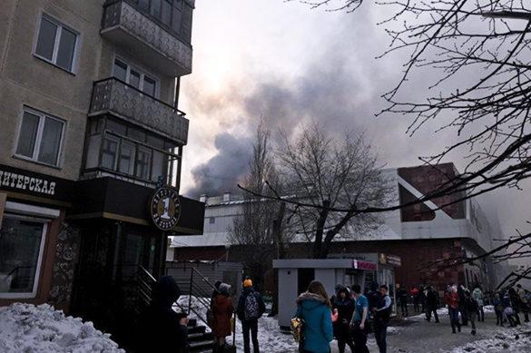 В Росії на пожежі в торговому центрі загинули 40 людей (ФОТО, ВІДЕО)