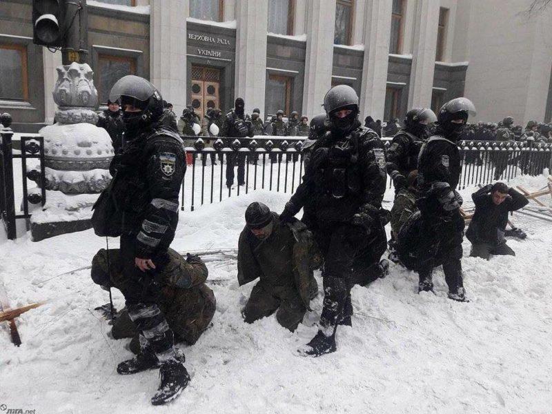 Учасники АТО з Івано-Франківська вимагають відставки Авакова