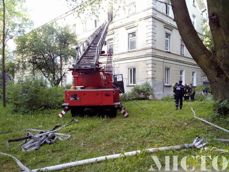 На Чорновола вибухнув телевізор, у квартирі знаходилася власниця (ФОТО)