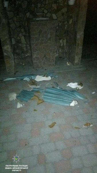 Марцінків запропонував, щоб юний вандал власноруч відремонтував знищене майно церкви