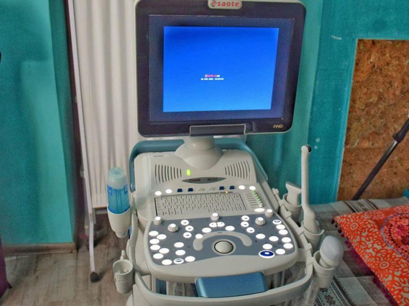 """У міському перинатальному центрі сучасний УЗД-апарат замінив застарілого """"попередника"""" (ФОТО)"""