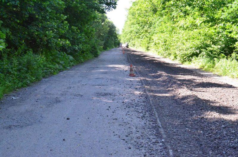 У Галицькому районі розпочали ремонт дороги (ФОТО)