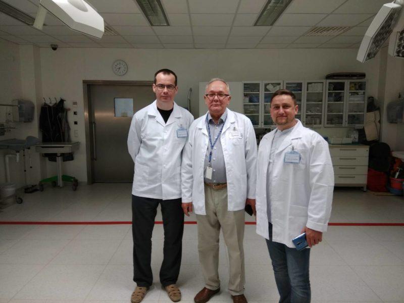 Франківський анестезіолог стажувався в одній з найкращих клінік світу (ФОТО)