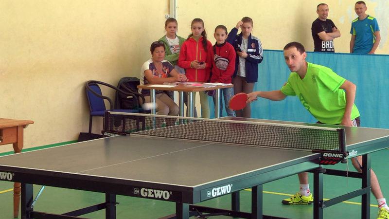 Чемпіонат з настільного тенісу відбувся на Прикарпатті (ВІДЕО)