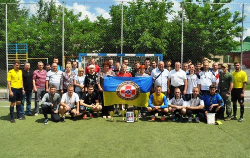 У Франківську футбольним турніром вшанували пам'ять загиблого в АТО медика (ФОТО)