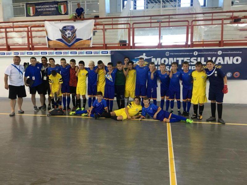 Юні футболісти Прикарпаття стали бронзовими призерами престижного міжнародного турніру (ФОТО)
