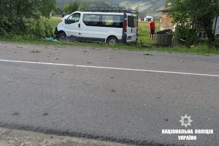 На Верховинщині чоловік збив трьох пішоходів: один загинув, двоє в лікарні (ФОТО)
