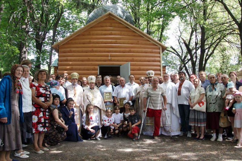 На Донеччині освятили храм, до будівництва якого долучився Франківськ (ФОТО)